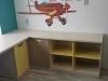 Рабочий стол и тумбы в детской