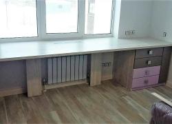 Большой письменный стол в детскую