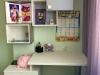 Письменный стол и полки для детской