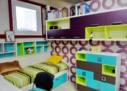 IМебель для детской. Смелое сочетание цветов