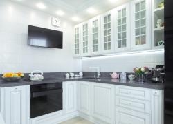кухня массив дерева Афина