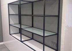 шкаф в гостиную в стиле лофт