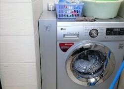 Выкатной ящик в цвет стиральной машины