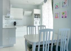 Кухня и интерьер в белом цвете