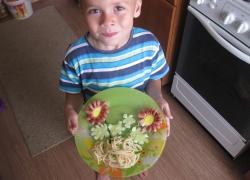 Блюдо для моей младшей сестренки
