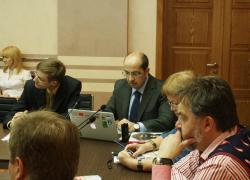 Игорь Найдин - участник круглого стола _Инновационная деятельность государственных и коммерческих организаций
