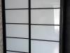 Фасады окрашенное стекло с межсекционным профилем