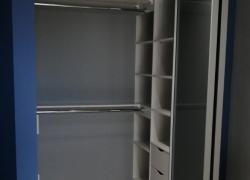Открытый шкаф. Складная дверь raumplus