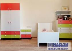 Шкаф, тумба и комод для детской