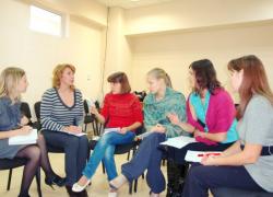 обсуждение в группах важных вопросов