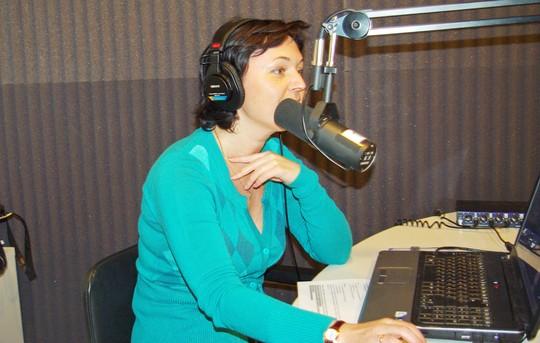 Ольга Шишкина – ведущая программы Бизнес ланч на радио Маяк