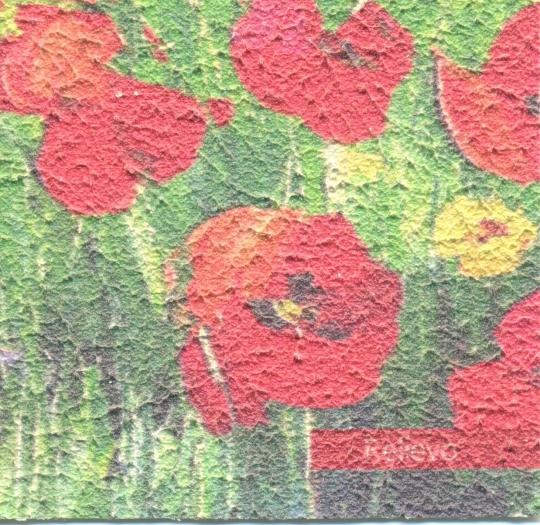 Фреска «Relievo». Представляет собой выраженную рельефную поверхность, имитирующю фактуру штукатурки