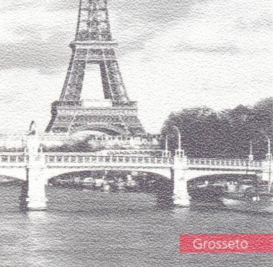 Обои «Grosseto». Флизелиновые обои белого цвета с мелко зернистой поверхностью