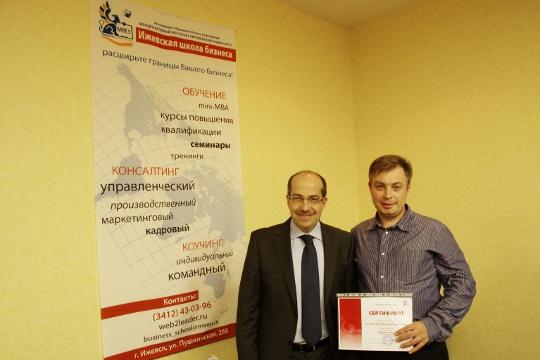 Игорь Манн и Дмитрий Козловский