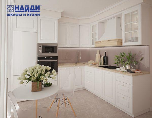 проект кухни классического стиля
