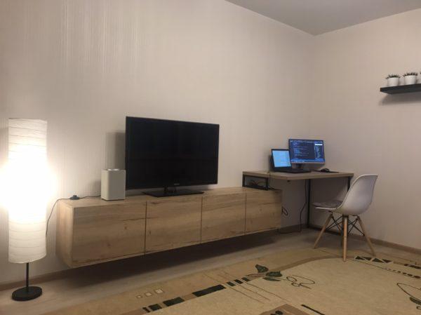 тумба ТВ и стол лофт